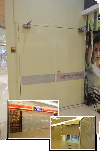 Malaysia roller shutter doors repair services hightex for Roller shutter motor repair