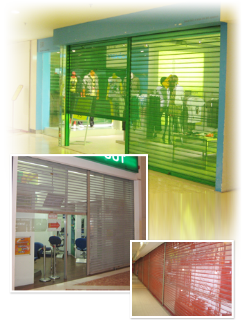 See Thru Roller Shutters In Malaysia Hightex Dynamic